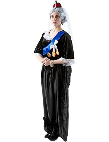 stüm für Damen Large (Queen Victoria Kostüme)