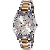 Timex Analog Silver Dial Women's Watch-TW000Q808
