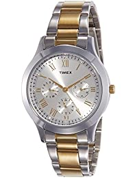 Timex Analog Silver Dial Women's Watch-TW000Q808