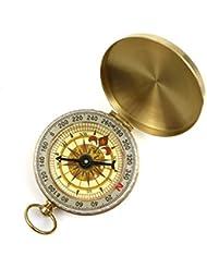 funtalker Classic-Pocket-Style Camping Survival Kompass Luminous Display–Gold