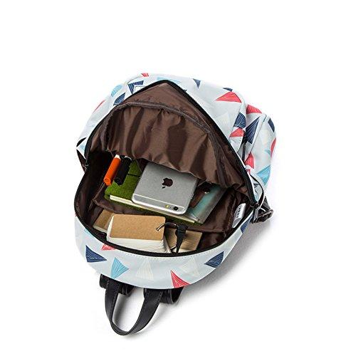 Grande capacit¨¤ di luce borsa a tracolla,stampa borse moda-A B