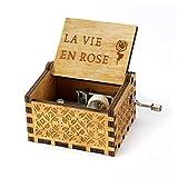 LAIMAIBA Carillon In Legno Di Rose Merry You Are My Sun Moon River Pocket Regalo Di Natale Regalo Di Compleanno