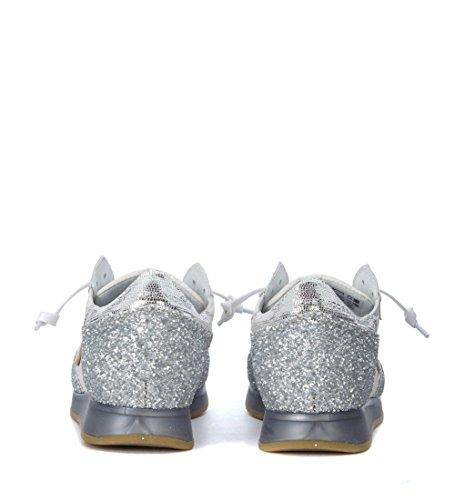 Philippe Model Sneaker Tropez Bianca e Argento Argento