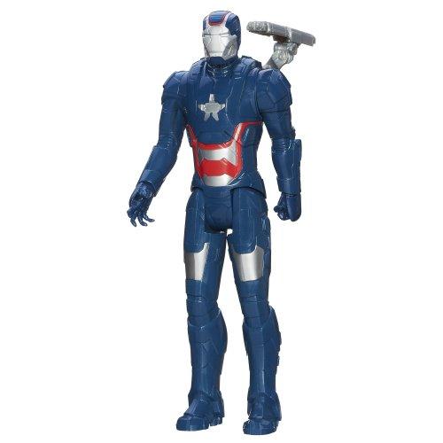 Iron Man 3 Figura Ferro Patriot - Eroe Serie Titan - 28 Cm Mobile