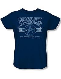 Star Trek - - Académie de Starfleet Terre T-shirt des femmes dans la marine