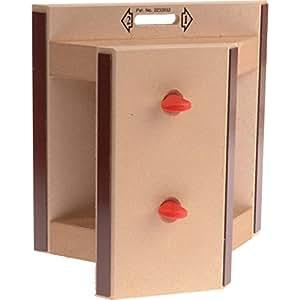 EMIR Boîte à onglets pour plinthes 225 mm (Import Grande Bretagne)