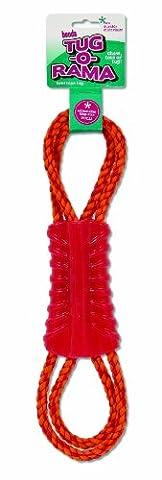 Booda 26637Tug-o-rama Twirl en corde Jouet pour chien,
