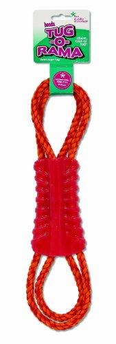 Booda 26637tug-o-rama Twirl Tauspielzeug für Hunde, farbenreiche (Booda Kauen Spielzeug)