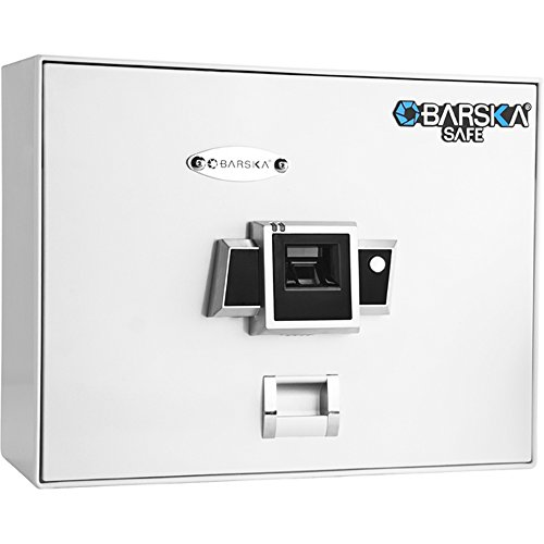 Barska bx-200Öffnung Oben biometrischer Safe, weiß