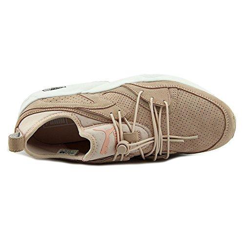 Puma Blaze of Glory Soft Wn's Daim Chaussure de Course Pink Dogwood- White