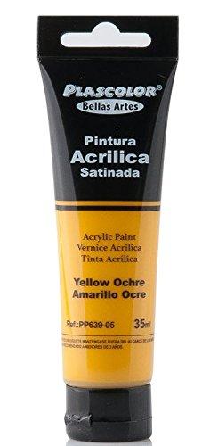 plascolor pp639-05-Acrylfarbe, 35ml, Ockergelb