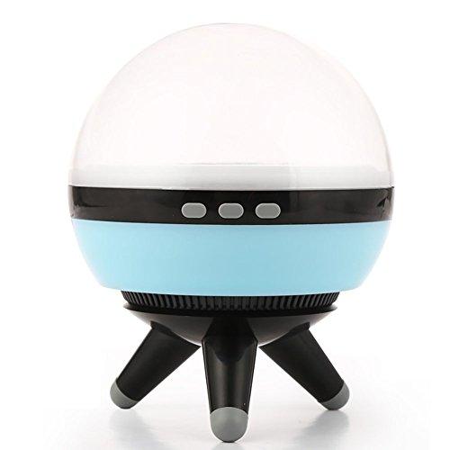 Ocamo drehbarer LED Projektion LED mit Projektor-Deko, Nachtlicht, Weiß Schwarz