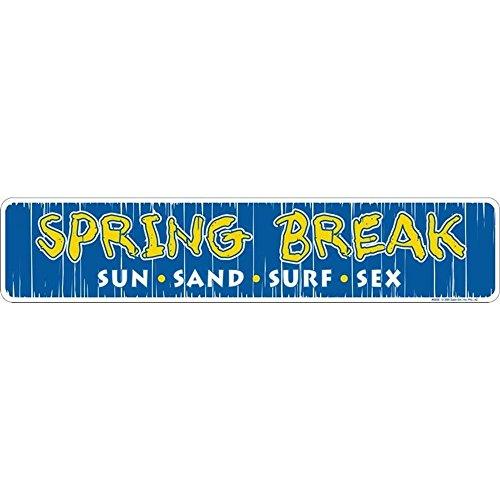Schilder 4Fun SSSB Spring Break, Straßenschild