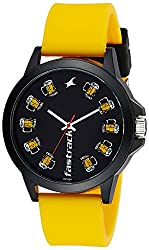 Fastrack Silicon Analog Black Dial Unisex Watches - 38024Pp01