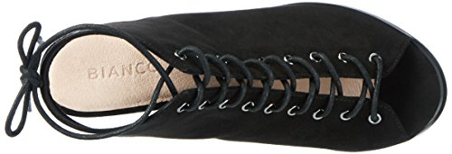 BIANCO - Laced Up Sandal Jfm17, Sandali Donna nero (nero)