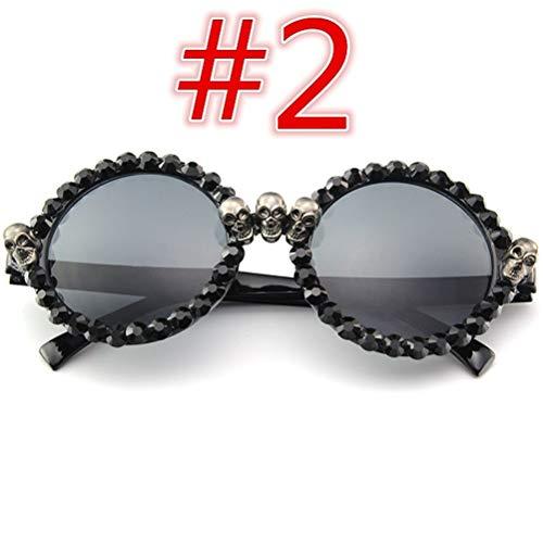 Unisex Sonnenbrille Verspiegelt POLARISIERTEN GLÄSERN Polarisierte Runde Lennon Sonnenbrille Vintage Polarisierte Linsen Shantou Diamant Metall Gestell Rundbrille Outdoor-Brille 100% UV-Schutz