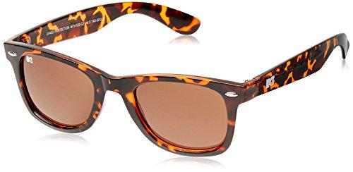 MTV UV Protected Wayfarer Unisex Sunglasses (Demi Brown) (MTV UV Protected-122-C2) image