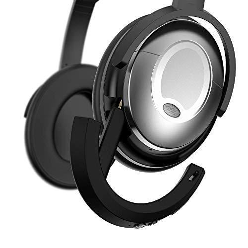 Adattatore Bluetooth senza fili Bose QuietComfort 15 Cuffie, MASCARRY Nero Bluetooth 4.1 Bose Receiver QC15 Cuffie con cancellazione acustica del rumore