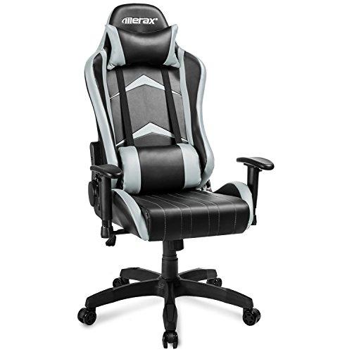 Merax Gaming Stuhl : merax gaming stuhl racing stuhl drehstuhl chefsessel ~ Watch28wear.com Haus und Dekorationen