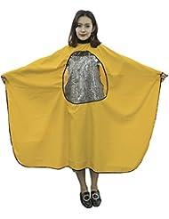 Hrph Peluquería Peluquería Hairstylist Cape Gown Impermeable Barber Cover Cloth Transparent Covers