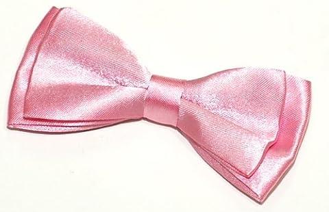 Retreez Pre-Tied Bow Tie (Width: 11.5 cm) - Pink