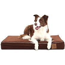 laifug ortopédica de espuma con efecto memoria para mascotas/perro cama con duradero resistente al agua maletero y extraíble funda con funda lavable