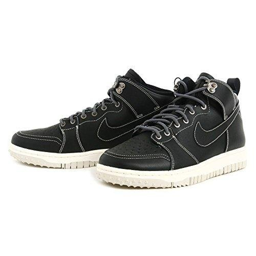 Nike Herren Dunk CMFT WB Basketballschuhe Weiß/Grau Schwarz-Dunkelgrau-Lght Bn, 41 EU - Schwarz Nike Dunk