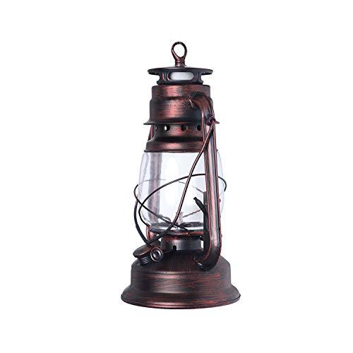HDOH Hurricane Lampe F9010 Petroleumlampen Portable Laterne 10inch (Farbe : Red Bronze) -
