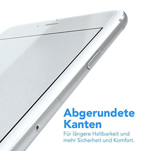 """iPhone 8+ / iPhone 7+ Glasfolie - EAZY CASE """"Glass Screen Protector"""" Displayschutz - Schutzglas als Displayschutzfolie 9H [3D Touch Kompatibel] aus Hartglas 0,3mm (1er Pack) 1x Glas"""