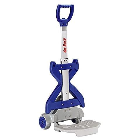 Go Easy Schulranzen Trolley ONE, 59x30x15cm, höhenverstellbar, blau (1 Stück)