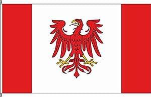 Hochformatflagge Burg Stargard - 150 x 500cm - Flagge und Fahne