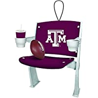 Texas A&M Aggies Official NCAA 4 inch x 3 inch Stadium Seat Ornament by Fans With Pride