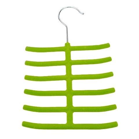 1x Scarves Necktie Rack Hanger Closet Non-slip Holder - Random Color