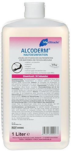 Meditrade Hautdesinfektion ALCODERM® 1 Liter Flasche