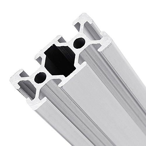 farwind 2040ranura marco de extrusión de perfiles de aluminio 500mm de largo para CNC 3d impresoras Stands muebles