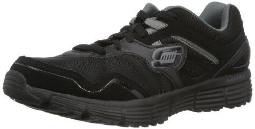 Skechers AgilityVictory Won 51258 - Zapatillas para hombre, color negro, talla 42