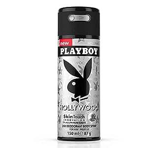 Playboy Hollywood 24h Deodorant body Spray, 150ml