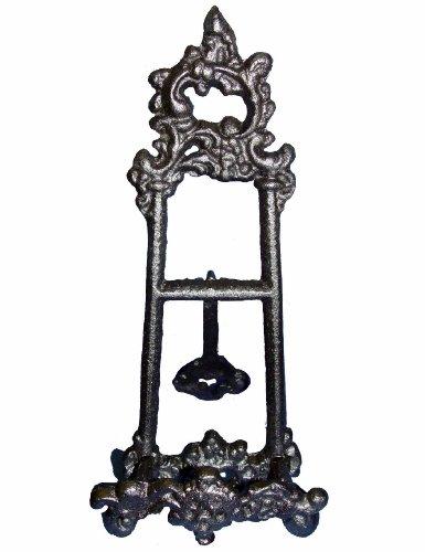 Staffelei nostalgisch romantisch verziert Eisen schwarz klein Nr. U2256
