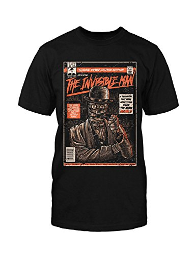 The Invisible Man T-Shirt Fun Funshirt Neu Comic Vintage Blogger Hipster Kult