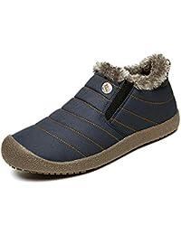 Zapatillas Casa Hombre Mujer Slippers Pantufla Invierno Caliente Casa Algodón Interior Al Aire Libre Zapatos A