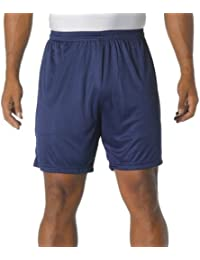 A4 6 Youth Cooling Performance Shorts, Navy, Small by Unknown