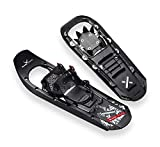 Black Crevice Snow Shoes, Schwarz, 64