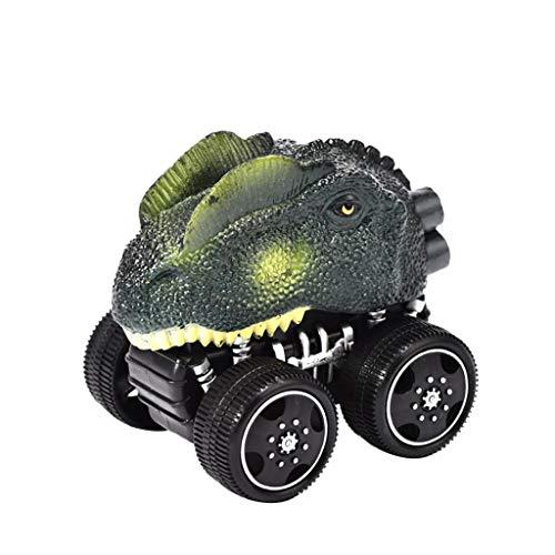 OHQ Mini Vehicle Dinosaur Pull Pull Cars con Big Tire Wheel Regalos Creativos NiñOs