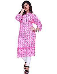 Kurti For Women Thari Choice Women Kurtis 3/4 Sleeve Women Cotton Printed Kurti For Women And Girls
