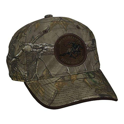 Winchester Realtree Extra Pferd und Reiter braun Patch Hat - Realtree Patch Cap