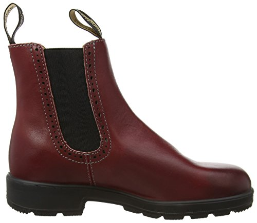 Blundstone - Classic Hole Punch, Stivali Chelsea Donna Rosso (Burgundy)