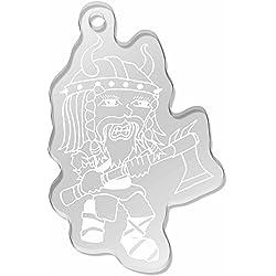 Azeeda 'Viking con Hacha' Llavero Grande (AK00011090)
