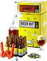Brassez votre propre bière ambrée à la maison comme un vrai maître brasseur ! Ce Beer Kit de niveau intermédiaire vous permet de réaliser toutes les étapes du brassage et ainsi d'avoir l'expérience de A à Z. Ce Kit complet contient tout le matériel r...