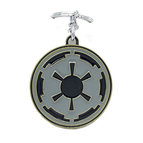 Valuepack portachiavi star wars in lega pendente ciondolo rogue one accessorio costume cosplay regalo natale per bmabini adulti unisex festa colore argento stile b