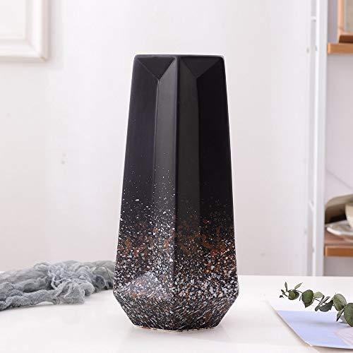 OPPP The vase Moderne Matt Schwarz Grau Beige -